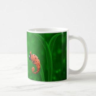 Coccinelle et caméléon mug