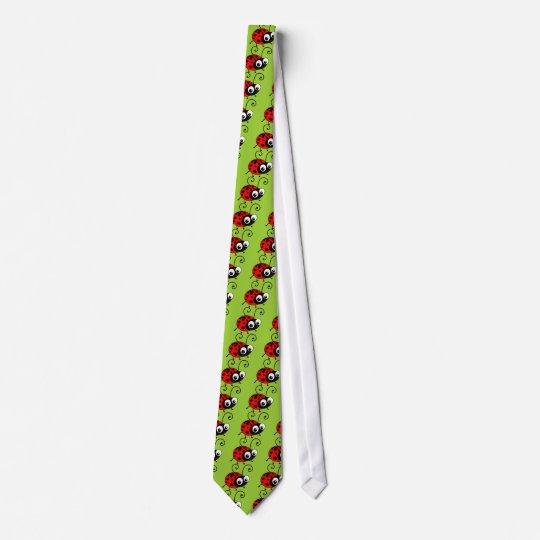 Coccinelle mignonne cravates