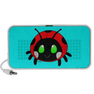 Coccinelle mignonne haut-parleurs iPod
