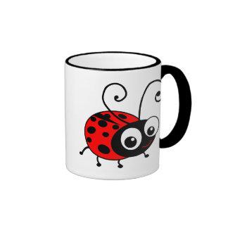 Coccinelle mignonne mug à café