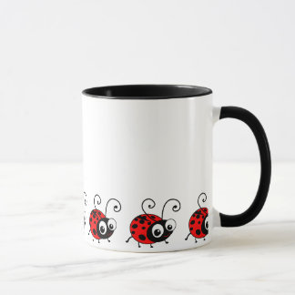 Coccinelle mignonne mugs