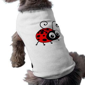 Coccinelle mignonne t-shirt pour chien