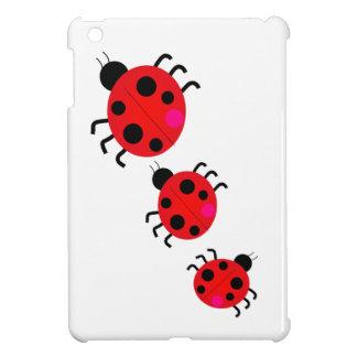 Coccinelles sur cas d'iPad de défilé le mini Étuis iPad Mini