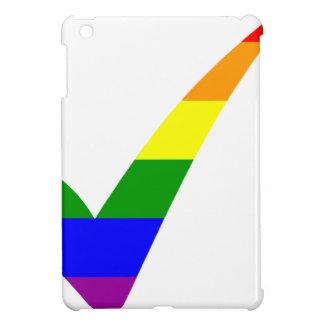 Coche multicolore d'arc-en-ciel coques iPad mini