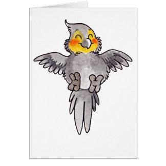 Cockatiel Carte De Vœux