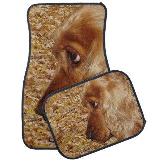 Cocker de chien tapis de sol