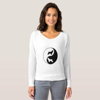 Cocker de Yin Yang T-shirt