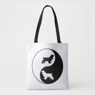 Cocker de Yin Yang Tote Bag