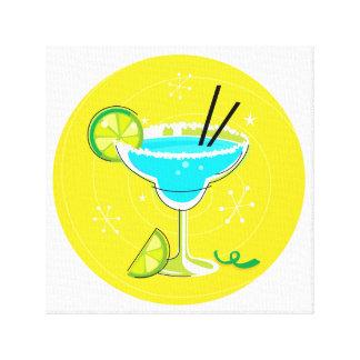 Cocktail vintage dans des couleurs lumineuses toiles