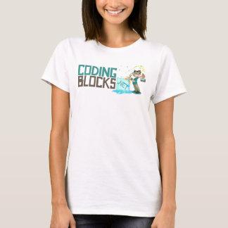 Codage du logo horizontal de blocs t-shirt
