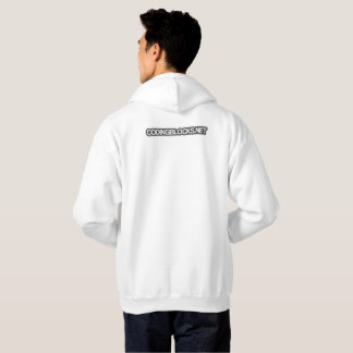 Codage du sweat - shirt à capuche de blocs