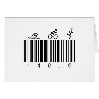 Code barres 140,6 carte de vœux