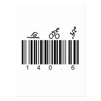 Code barres 140,6 carte postale