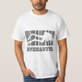 Code barres de Divemaster T-shirt