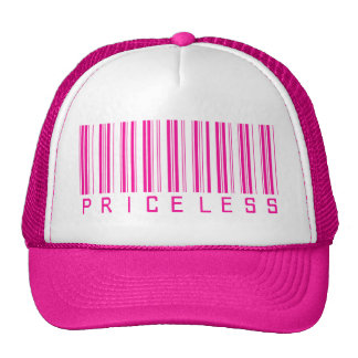 Code barres inestimable casquette