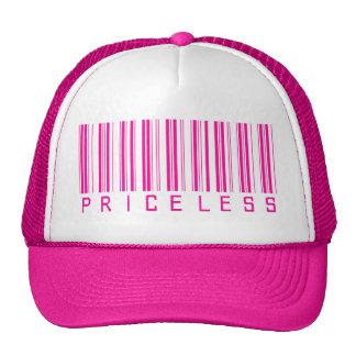 Code barres inestimable casquette de camionneur