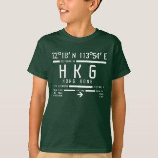 Code d'aéroport international de Hong Kong T-shirt