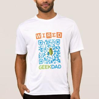 Code de câble du papa QR de geek T-shirts
