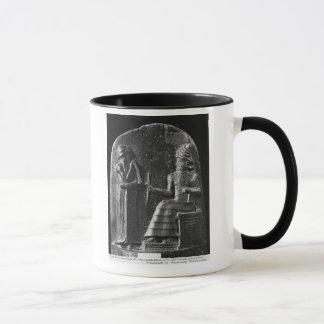 Code de Hammurabi, dessus du stele Tasses