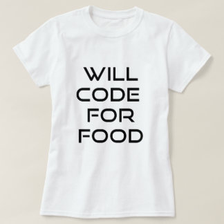 Codera pour la nourriture t-shirt
