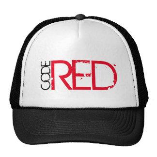 Codez le casquette rouge de camionneur