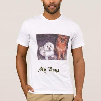 Cody et boomer,    mes garçons t-shirt