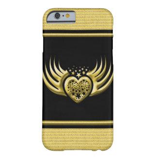 Coeur à ailes par noir d'or