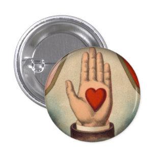 Coeur à disposition badges
