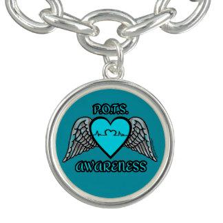 Coeur/ailes… P.O.T.S. Bracelets Avec Breloques