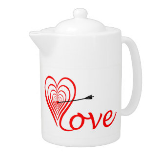 Coeur amour Dartscheibe avec la flèche