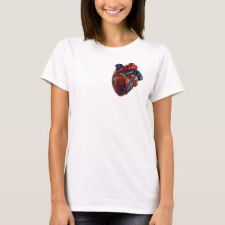 Coeur anatomique t-shirt