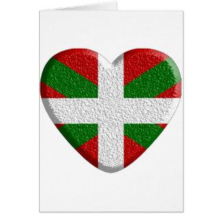 Coeur Basque texturé.png Carte De Vœux