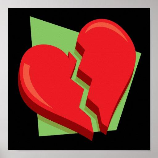 Coeur brisé affiche