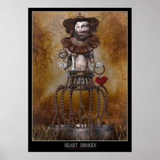 Coeur brisé poster