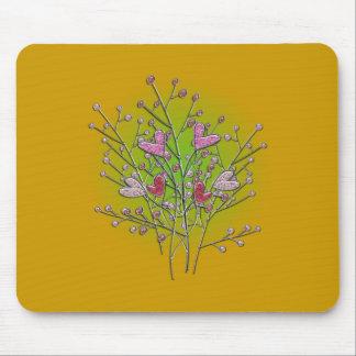 Coeur buisson hearts shrub tapis de souris