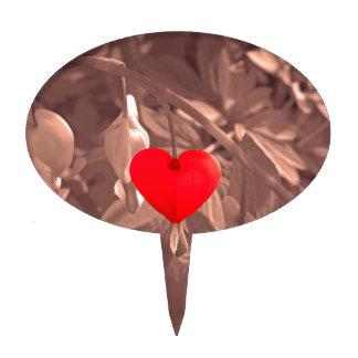 Coeur central piques à gâteau