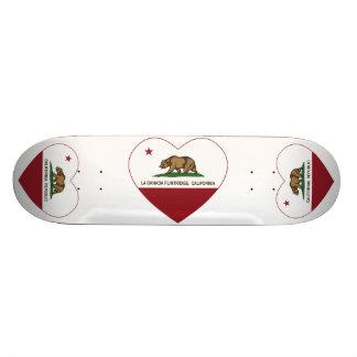 coeur de Canada Flintridge de La de drapeau de la  Planche À Roulette