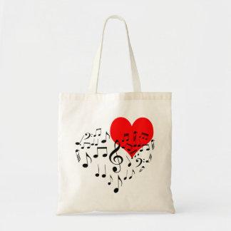 Coeur de chant drôle un-de-un-aimable sac