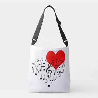 Coeur de chant romantique un-de-un-aimable sac ajustable