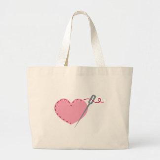 Coeur de couture sacs