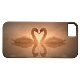 Coeur de cygne étuis iPhone 5