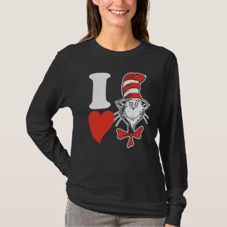 Coeur de Dr. Seuss Valentine | I le chat dans le T-shirt