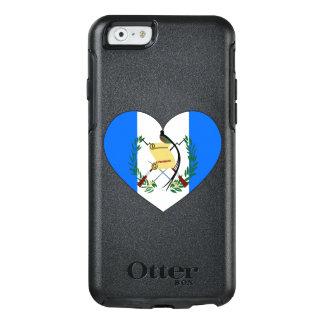 Coeur de drapeau du Guatemala Coque OtterBox iPhone 6/6s