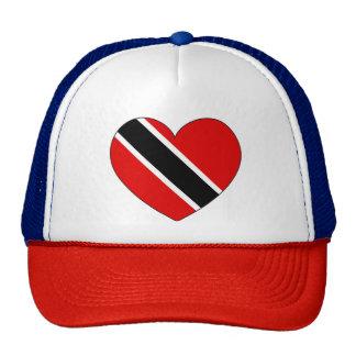 Coeur de drapeau du Trinidad-et-Tobago Casquette De Camionneur