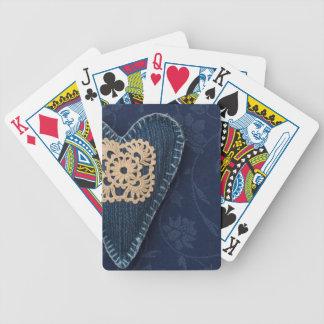 coeur de jeans jeu de cartes