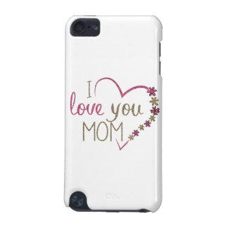 Coeur de jour de mères de maman d'amour coque iPod touch 5G