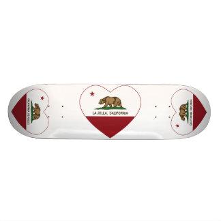 coeur de La Jolla de drapeau de la Californie Skateboards Personnalisés