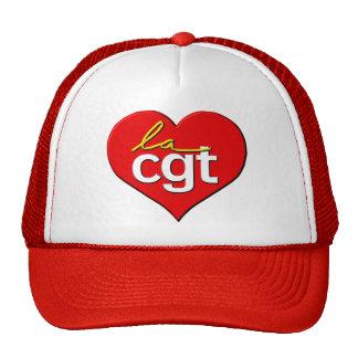 Coeur de la La CGT Casquettes De Camionneur