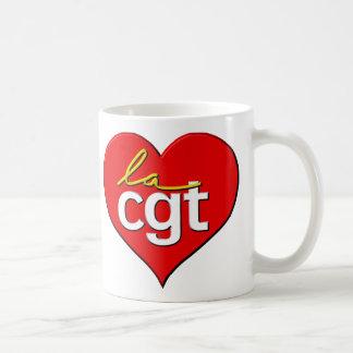 Coeur de la La CGT Mug