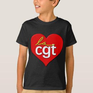 Coeur de la La CGT T-shirt